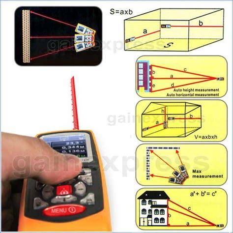 Laser Distance Meter Berkka gm100d professional 100m laser distance meter w high accuracy 177 1 5mm gain express