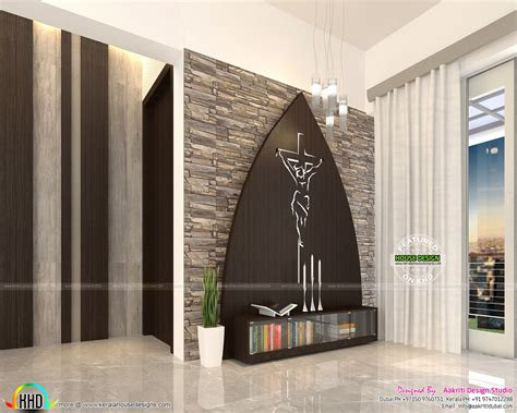 Interiors For Homes by Flat Interior Designs In Kerala Kerala Home Design And