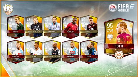 ea sports fifa mobile fifa mobile team of the week
