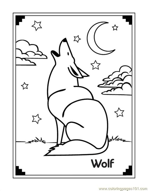 cute wolf family coloring pages coloring pages