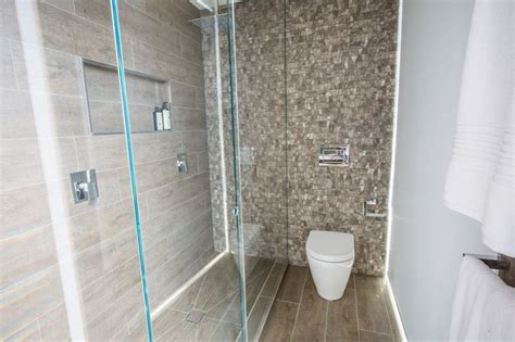 Bathroom Feature Tiles Ideas by This Stylish Bathroom Appeared On The Block Fans Vs Faves