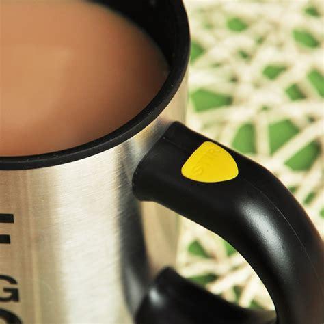 Panci Pengaduk Otomatis barang unik automatic self steering coffee cup gelas