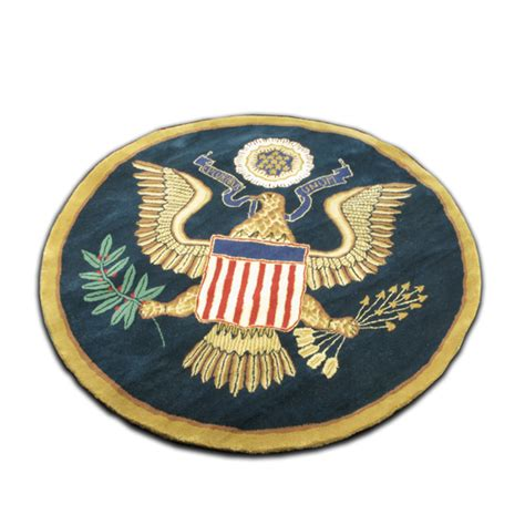presidential seal rug great seal of the united states wool rug at the f kennedy presidential library and museum