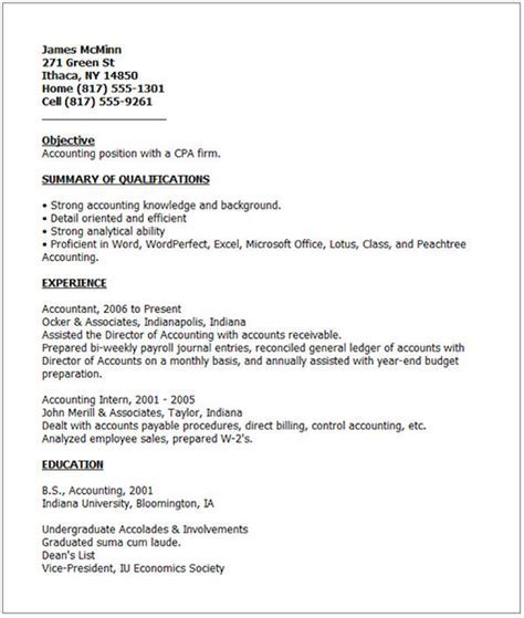 Bad Resumes by Bad Resume Exle