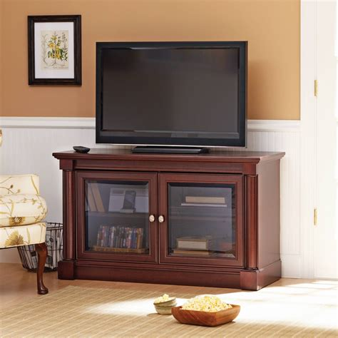 Television Cabinets With Glass Doors Best 15 Of Tv Cabinets With Glass Doors