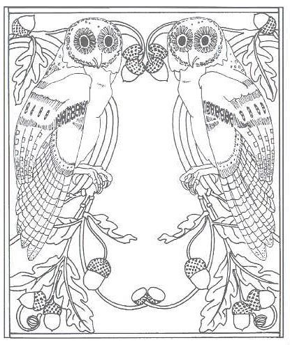 printable art nouveau designs free coloring pages of art nouveau