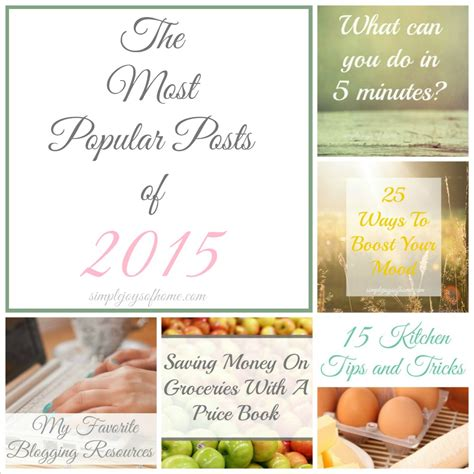 Simple Joys Of Home 5 A Trip Memory The 10 Most Popular Posts Of 2015