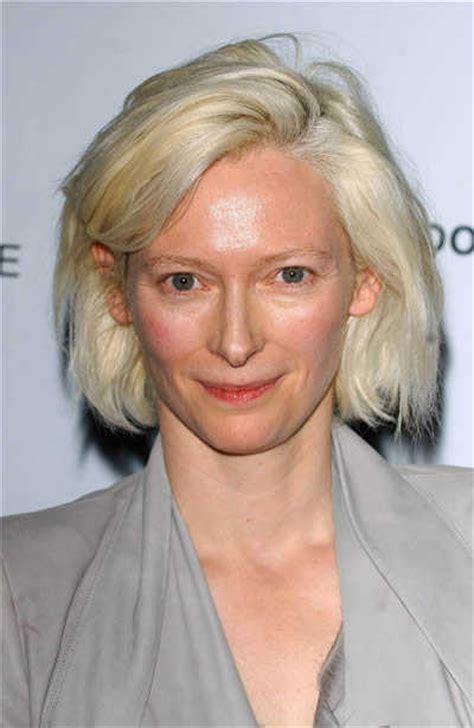 TILDA SWINTON hairstyle   BakuLand   Women & Man fashion blog