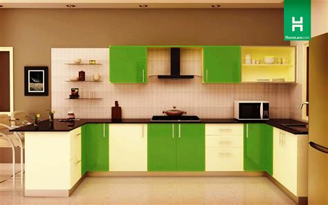 U Shaped Modular Kitchen Design   Home Design Ideas