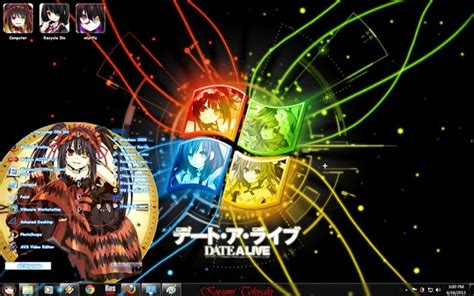 download theme windows 7 kurumi tokisaki theme windows 7 kurumi tokisaki date a live v2