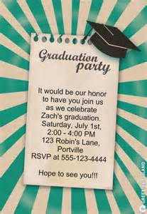 free graduation invitations you can print from home
