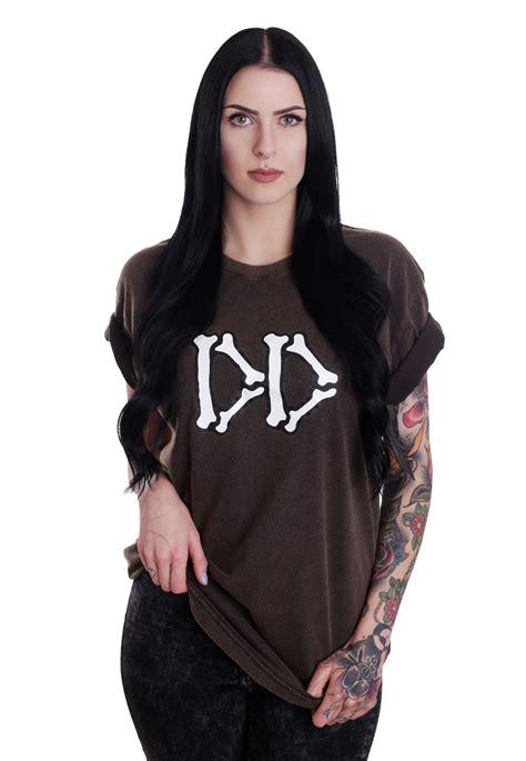 T Shirt Dropdead 1 drop dead boned aged black t shirt impericon de