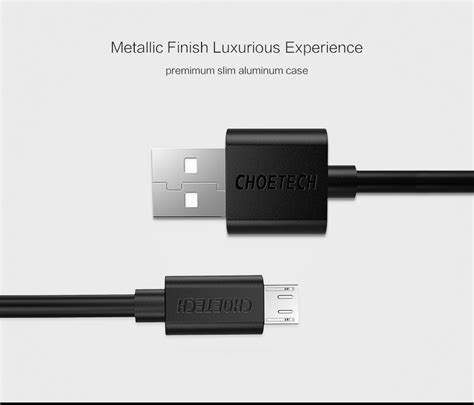 Agiler Cable Micro Usb Kabel Charging Dan Data Original Kualitas choetech kabel charger micro usb fast charging 2 4a 1m black jakartanotebook