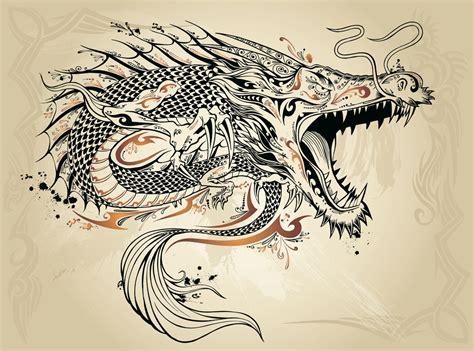 tattoo catalogs free 中国龙图腾矢量图片 图片id 324539 春节 矢量素材 聚图网 juimg com