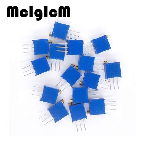 Potensiometer 3296w 102 1k Ohm Trimpot Trimmer Variable Resistor aliexpress buy q004 free shipping 50pcs 3296w 1 102f 3296w 1k ohm 102 trimpot trimmer