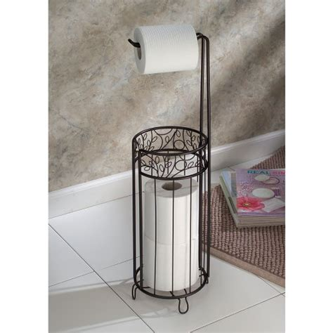 Bathroom Toilet Paper Storage Interdesign Twigz Toilet Paper Stand Bathroom Roll Holder Tissue Vintage Rustic