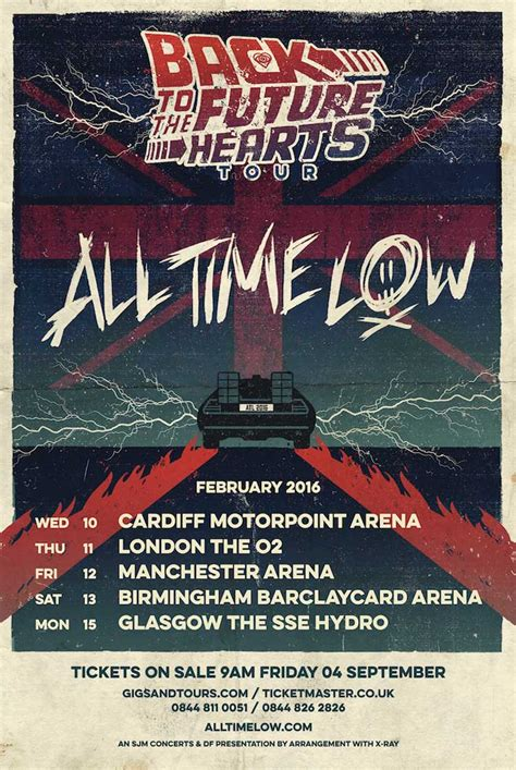 a for all time uk all time low 2016 uk tour