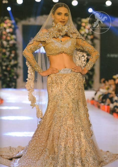 Brown Bridal by Light Brown Bridal Wear Lehenga Choli