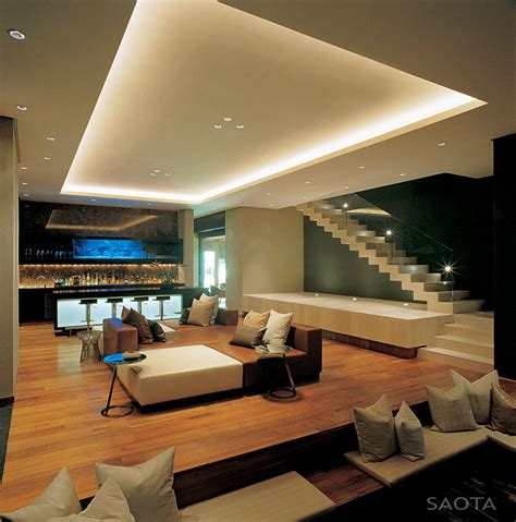 modern living spaces modern stairs living space bar lighting st 10 in