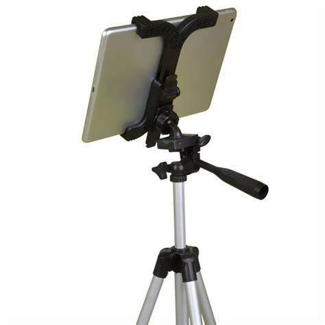 Tripod Tablet quality abs self stick tripod mount stand holder