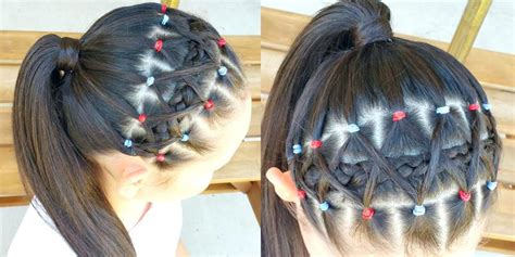 hair dos using rubber bands home improvement rubber band hairstyles hairstyle
