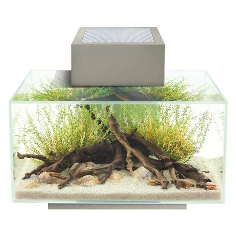 aquarium design edge 15386 fluval edge 6 gal aquarium set pewter