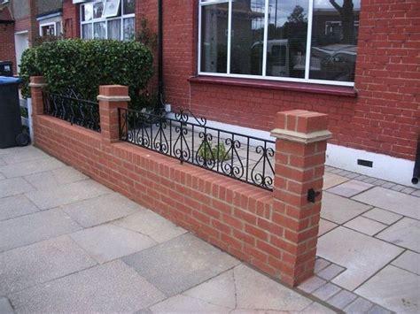 front garden wall designs search garden wall