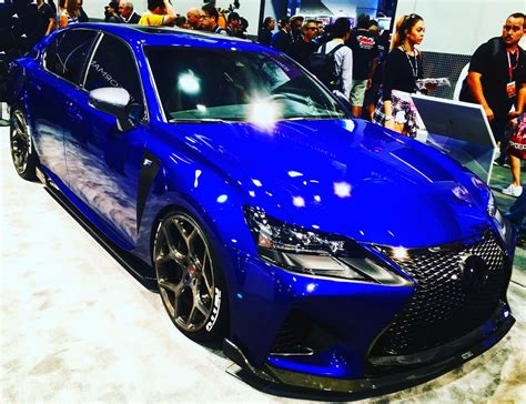 lexus sema 2016 behold lexus s 2016 gs f sema car fender vents and all