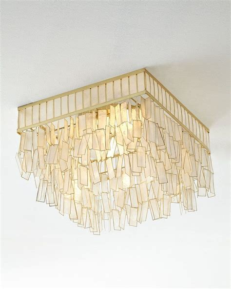 Capiz Hanging L by Commendable Capiz Light Fixture Capiz Shell Chandelier