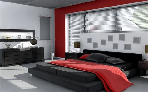 red white and black bedroom wallpaper 666