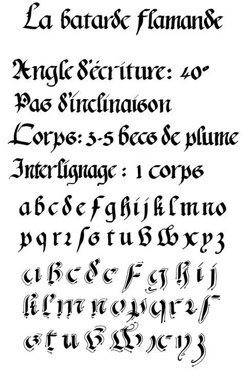 Enluminure et calligraphie - Ecriture