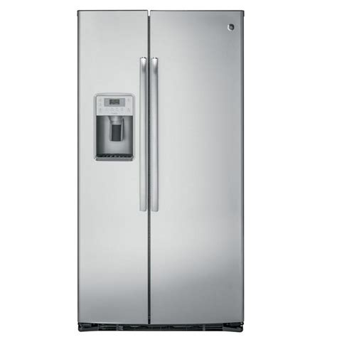 Ge Profile Refrigerator Cabinet Depth by Ge Profile 21 9 Cu Ft Side By Side Refrigerator In