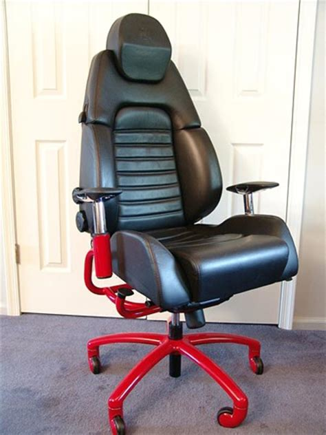 Car Seat Chair by Racechairs Sports Car Seats For The Cubicle Geekologie