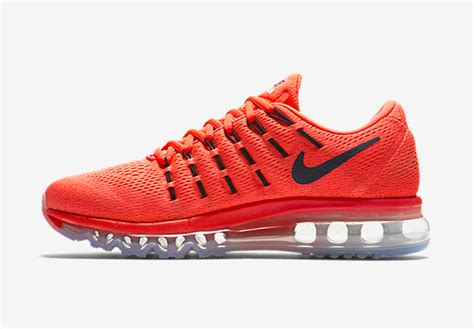 orange nike shoes womens air max 2016 nike running shoes orange black nike