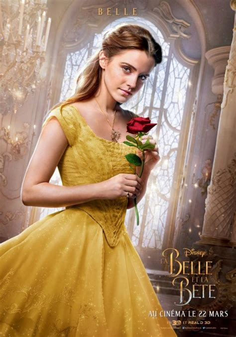 emma watson french film imax poster for beauty and the beast blackfilm com read