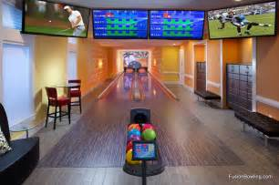 Home bowling alley reunion fl contemporary home gym orlando