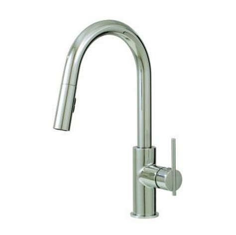 aquabrass kitchen faucets aquabrass kitchen faucets faucet 20343 in brushed nickel