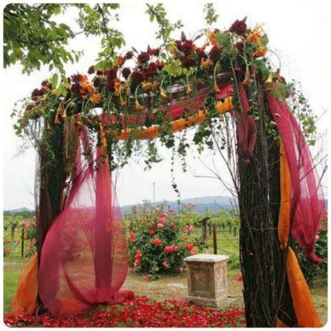 fall wedding ceremony decorations fall wedding ceremony ideas wedding