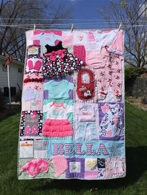 pattern for baby clothes quilt diy baby clothes memory quilt pattern video tutorial