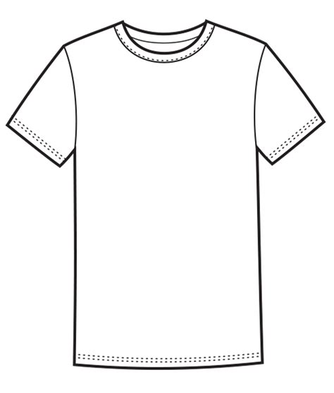 T Shirt Template Ai Templates Station T Shirt Template Ai