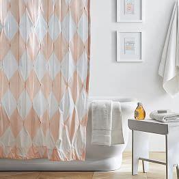 teen shower curtain teen shower curtains pbteen
