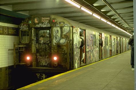 80s L by Nyc Subways In The 70 S And 80 S Spraydaily
