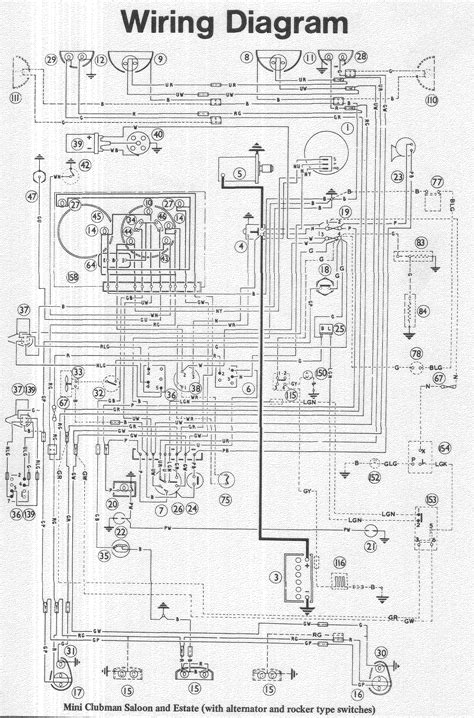 mini cooper circuit wiring diagrams wiring diagram gw