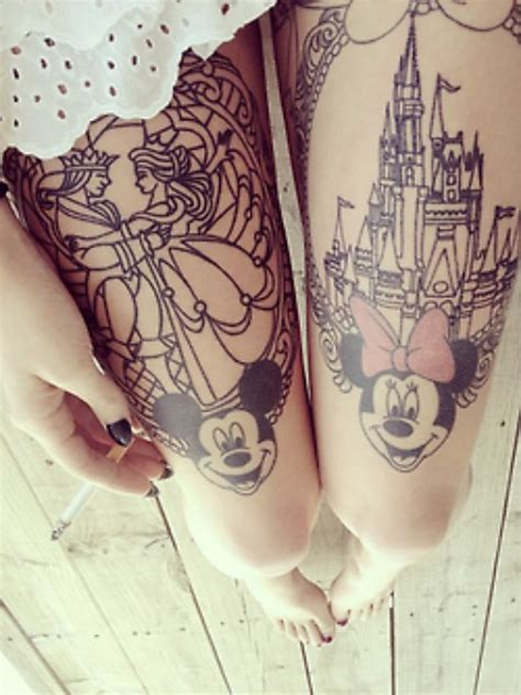 best leg tattoos best thigh tattoos designs for collections