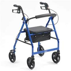 Bedroom Slippers Mens drive r8 lightweight aluminium rollator blue
