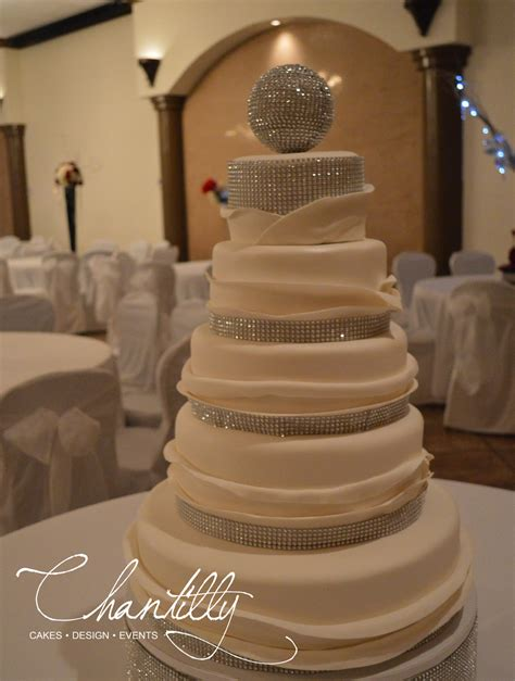 New Wedding Cake by Wedding Cakes Chantilly Cakes