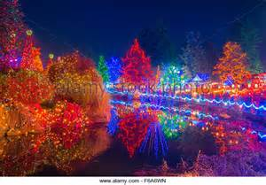 Vandusen Botanical Garden Festival Of Lights Vandusen Stock Photos Vandusen Stock Images Alamy