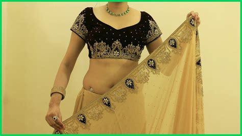 how to drape a heavy saree proper saree draping video how to wear heavy saree