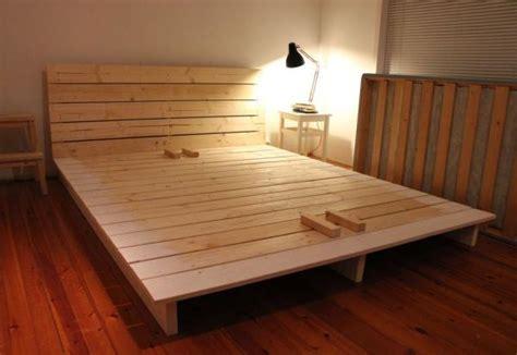 Do It Yourself Bed Frame Ideas Diy Fabriquer Un Lit Plate Forme