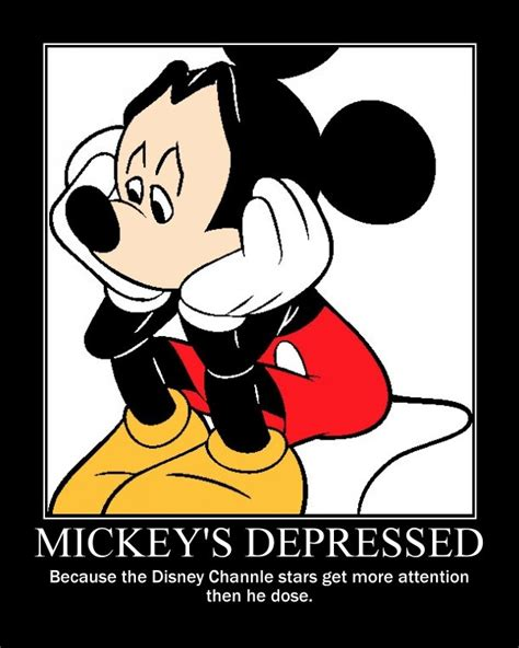 mickey mouse motivational poster by viregirl150 on deviantart